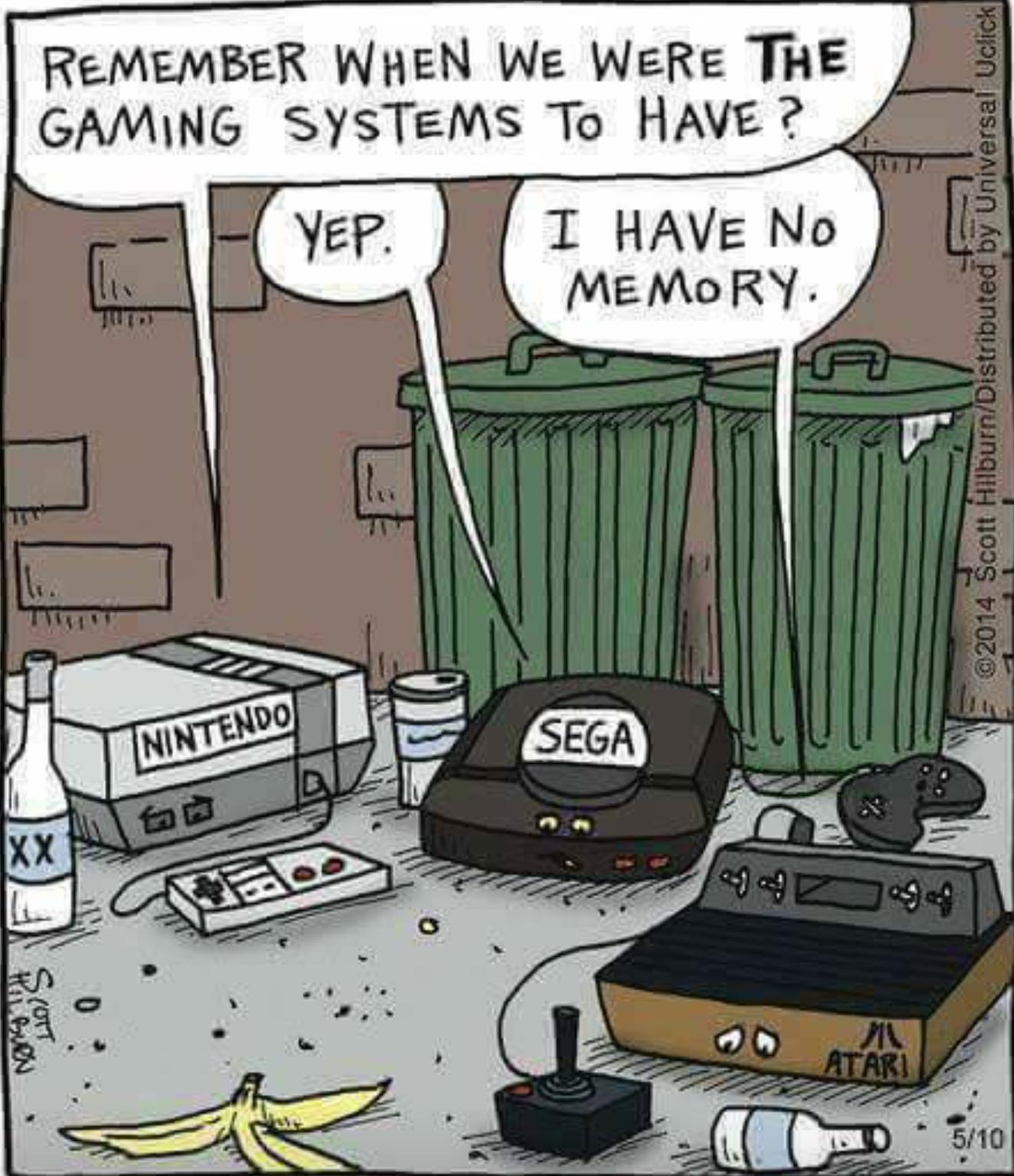 Oude spelcomputers voor kinderen