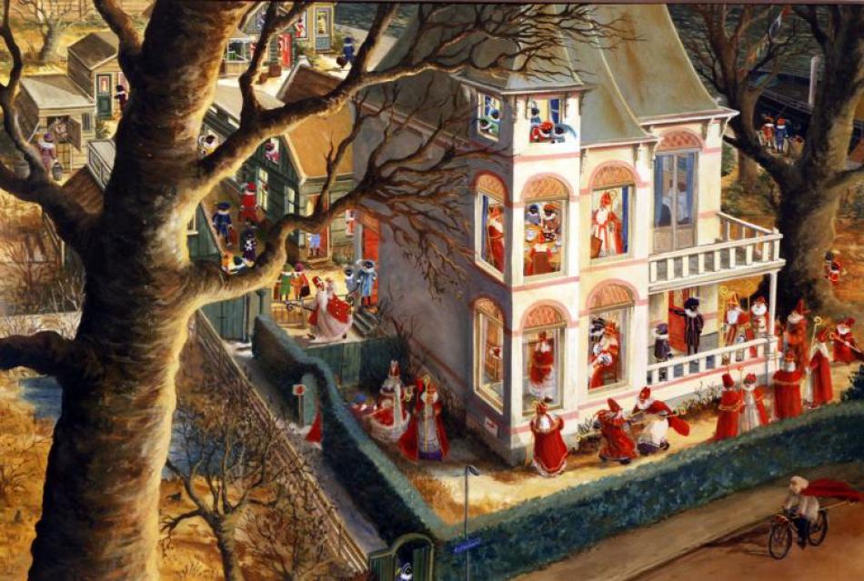 Prentenboek Sinterklaas - Charlotte Dematons