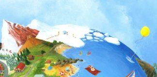 Voorkant van het boek De gele balon van illustrator Charlotte Dematons