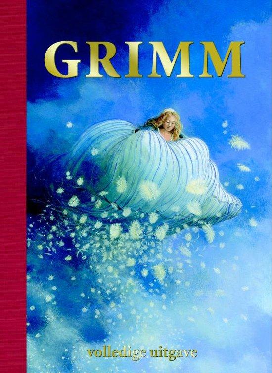 De cover van Grimm, het bekend sprookjesboek geschreven door de gebroeders Grimm een geïllustreerd door Charlotte Dematons