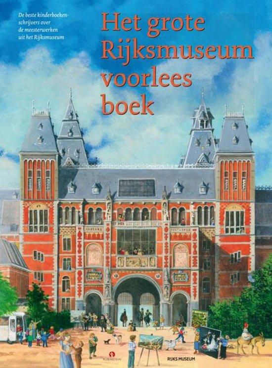 De cover van het grote Rijksmuseum voorleesboek geïllustreerd door Charlotte Dematons.