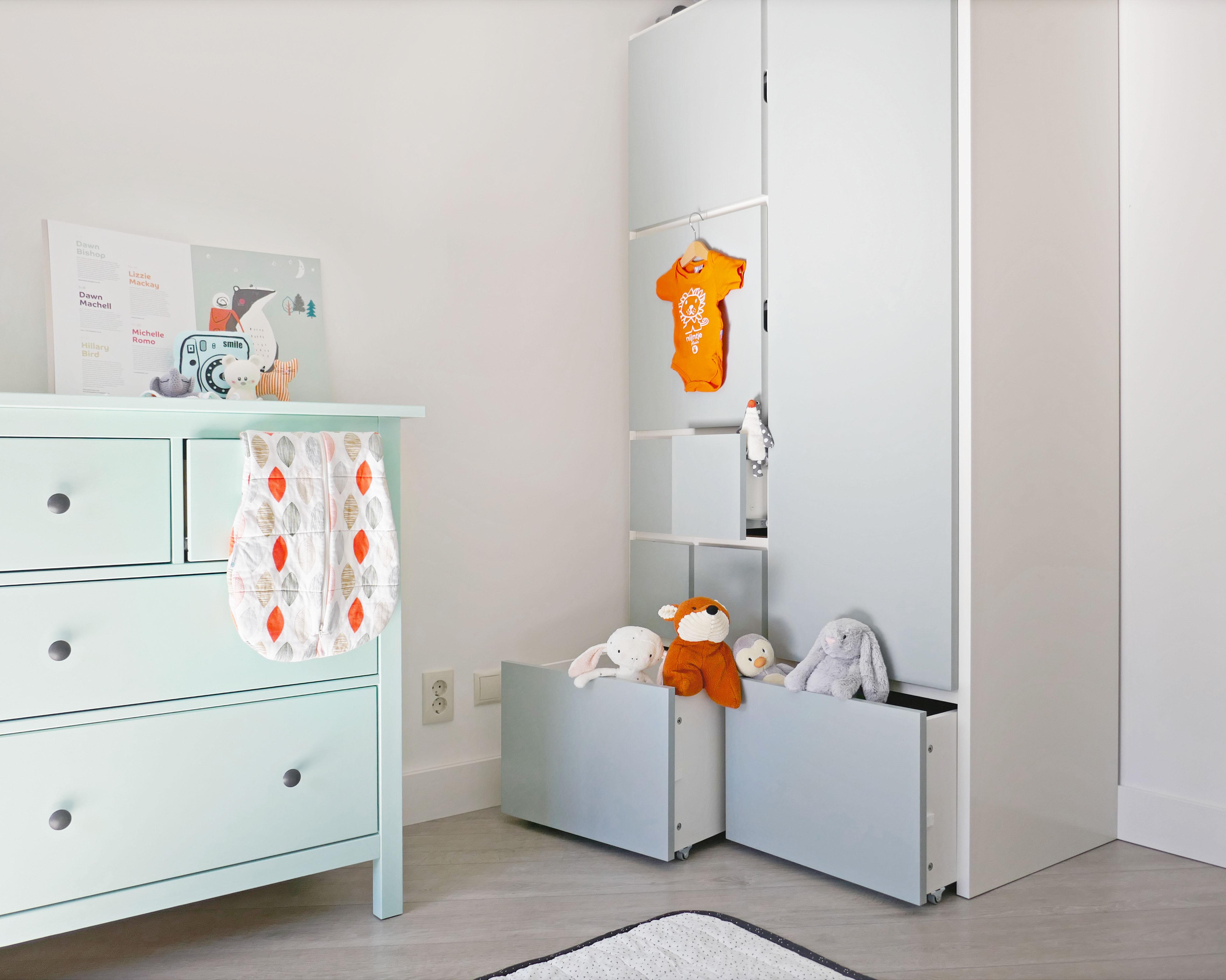 een kijkje in de kinderkamer: grote meubels voor een kleine meid, Deco ideeën