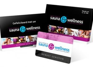 Nationale Sauna & Wellness cadeaukaart